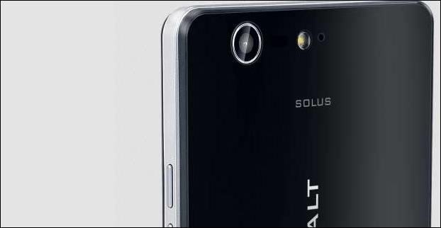 Cobalt Solus has a 13MP main camera with LED flash and a 8 MP front camera