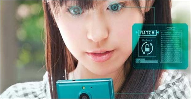 Fujitsu's is the pioneer company to have used an iris scanner in its Arrows NX F-04G smartphone model.