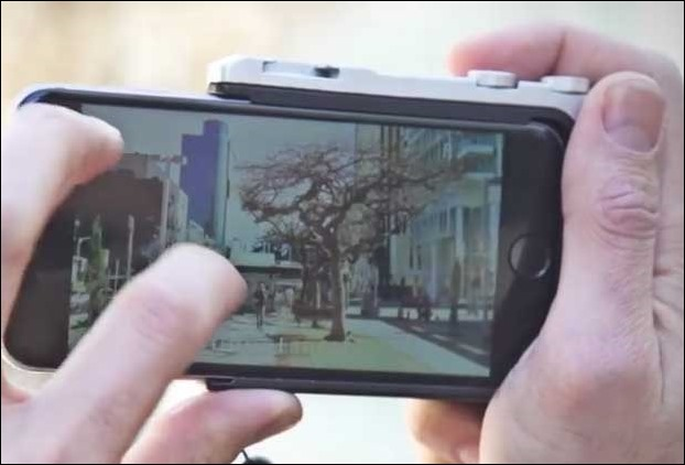 Pictar attachment converts your IPhone to a camera with DSLR capabilities