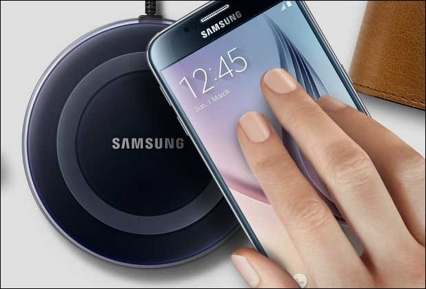 In Galaxy S8 users can charge their phone with a wireless charging pad